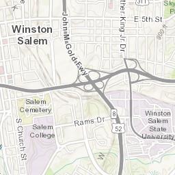 Winston Salem Business 40 and Old Salem Improvement Projects