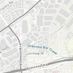 Diamond Bar City Maptest on