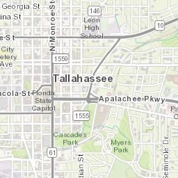 Florida State University Campus Map