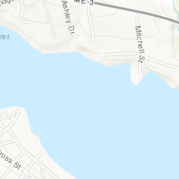 1870 FL MAP Ferry Pass Fish Hawk Fleming Island Florida City Ridge Forest LARGE