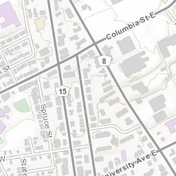 U Waterloo Campus Map.Campus Map Test