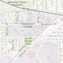 Western Michigan University Bicycle Rack Finder