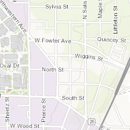 Purdue University Campus Map Purdue Campus Map   West Lafayette Campus