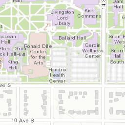 Concordia College Campus Map