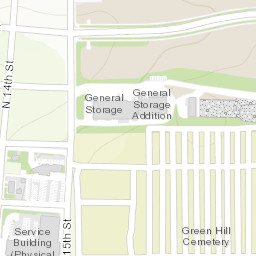 UW Campus Map