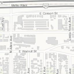 Arcgis Pasadena City College Campus Map