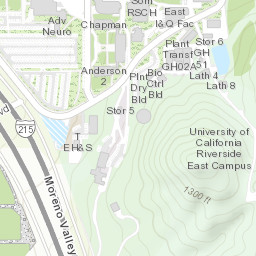 Riverside Campus Map.Ucr Campus Map Campus Map