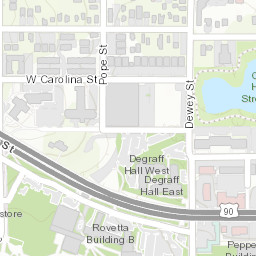 Florida State University Campus Map on