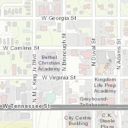 Florida State Map.Florida State University Campus Map