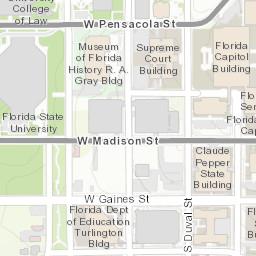 Florida State University Campus Map.Florida State University Campus Map