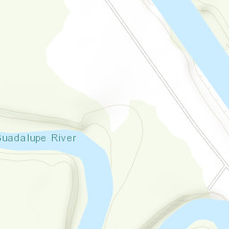 Guadalupe River Map