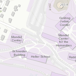 Campus Map Resources Spiritual And Religious Life Brandeis