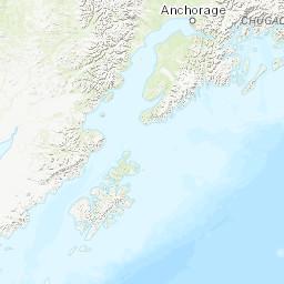 South Alaska Map.South Central Alaska Peakbagger Com