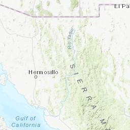 Geographical Map Of Arizona.Arizona Trails Illustrated Maps Trail Maps