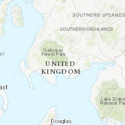 Letterkenny Ireland Map.Radon Map Environmental Protection Agency Ireland