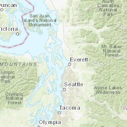 Washington - Trails Illustrated Maps - Trail Maps