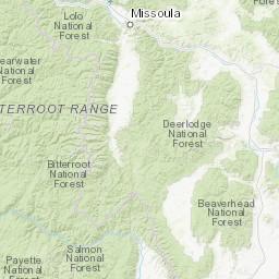Northwest Montana Ranges - Peakbagger.com