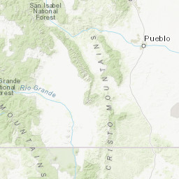 New Mexico Fire Lookouts Map