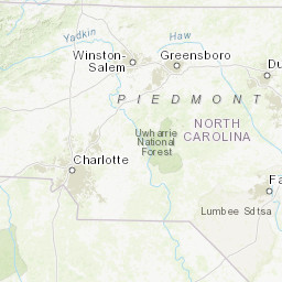 North Carolina Trails Illustrated Maps Trail Maps