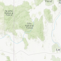 Map Of Central Arizona.Central Arizona Highlands Peakbagger Com