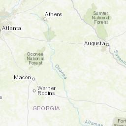 Map Of Georgia Highway 341.Georgia Dot Traffic Counts