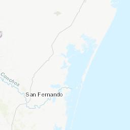 Earthquakes in Matamoros today, history, map, tracker