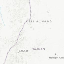 Landsat image map of the Jibal al Qahr Quadrangle, sheet 19G