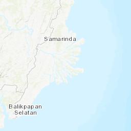Earthquakes in Samarinda today, history, map, tracker