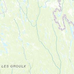 Monts Groulx - Peakbagger.com on