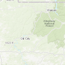 Central Pennsylvania Allegheny Mountains - Peakbagger.com