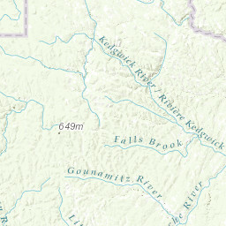 St John River Maine Map.Ground Water Favorability And Surficial Geology Of The Lower St