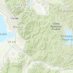 Central Wasatch Range - Peakbagger.com