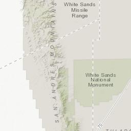 Tortugas Mountain Recreation Area Bureau Of Land Management
