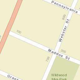 Wildwood Florida Map.Activity At 201 Cleveland Ave Wildwood Fl