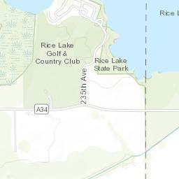 rice lake depth map Rice Lake Iowa Dnr rice lake depth map