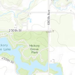 Hickory Grove Lake Iowa DNR - Dnr topo maps