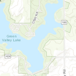 Green Valley Lake Iowa DNR - Dnr topo maps
