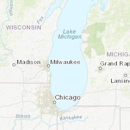 M 3 2 2 Km Sse Of Detroit Beach Michigan