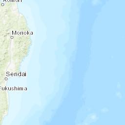 M 91 Near The East Coast Of Honshu Japan - Us-to-japan-map
