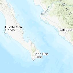 San Jose Del Cabo Mexico Map.M 5 5 100km Ne Of San Jose Del Cabo Mexico