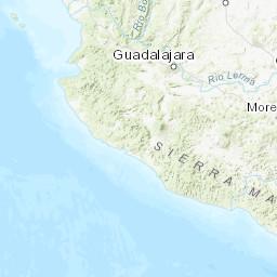 M 4 7 13km Sw Of Manzanillo Mexico