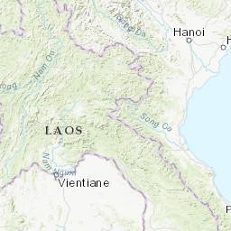 Dien Bien Phu Vietnam Map.M 4 3 37km E Of Dien Bien Phu Vietnam
