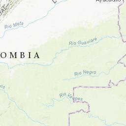 M 4 6 6 Km Nnw Of Cepita Colombia