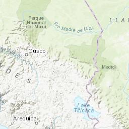 M 7.1   38km SSW of Acari, Peru