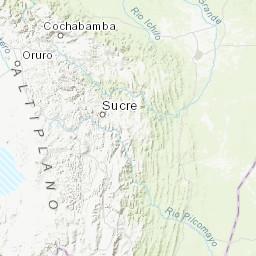 M 4 6 104 Km Wsw Of Poopo Bolivia