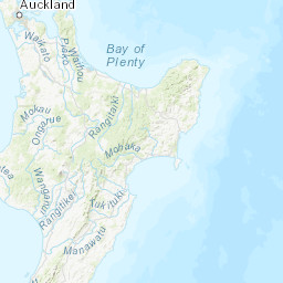 New Zealand Interactive Map.M 4 0 35km Sw Of Hastings New Zealand