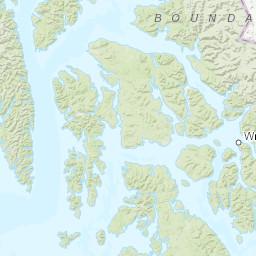 Frederick Sound Alaska Map.Zone Area Forecast For Frederick Sound