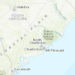 Savannah South Carolina Map.Zone Area Forecast For Coastal Waters From Edisto Beach Sc To